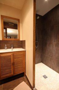 salle d'eau attenante au jacuzzi